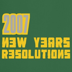 Bottlegreen 2007 Resolutions T-Shirt - Kochschürze