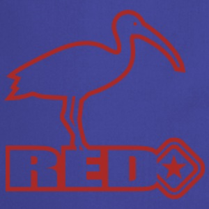 Sky Red Bird T-Shirts - Keukenschort