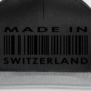 Black Made in Switzerland Ladies' - Snapback Cap