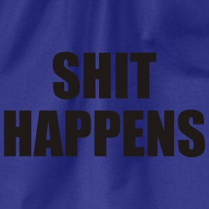 Sky Shit happens T-Shirts - Gymtas