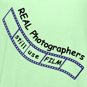 Film Photographer T-Shirt - Women's Tank Top by Bella