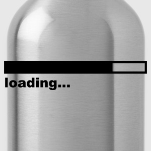 Loading Bar Girlie Rot - Trinkflasche