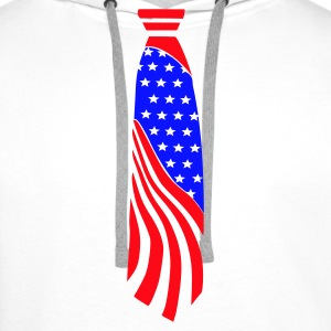 White Tie American - US Ladies' - Men's Premium Hoodie