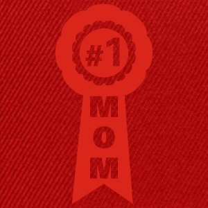 Gul Number one mom T-shirt - Snapbackkeps