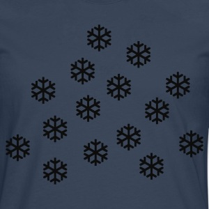 Sky Snowstorm - Snow - Winter T-Shirts - Men's Premium Longsleeve Shirt