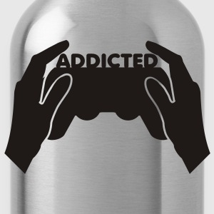 Yellow addicted T-Shirts - Water Bottle