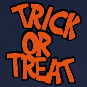 Himmelsblå Trick or treat? T-shirt - Basebollkeps