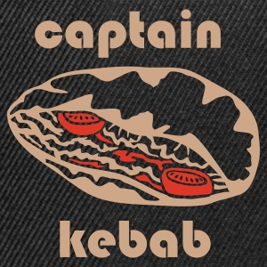 Brown Captain Kebab T-Shirts - Snapback Cap