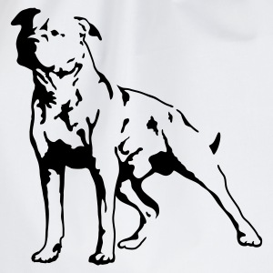 Ash Staffordshire Terrier T-Shirts - Drawstring Bag