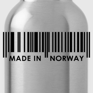 Navy Bar Code Made in Norway Ladies' - Water Bottle