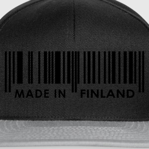 Black Bar code Made in Finland Ladies' - Snapback Cap