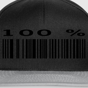 Black Bar Code 100% Ladies' - Snapback Cap