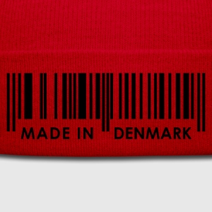 Red Bar Code Made in Denmark Ladies' - Winter Hat