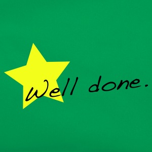 Grass green Well done star T-Shirts - Retro Bag