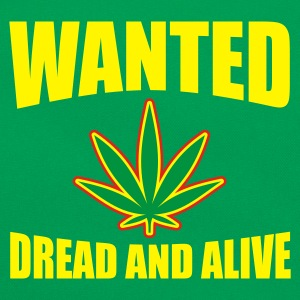 Wanted Dread & Alive Men's Tees (short-sleeved) - Retro Bag