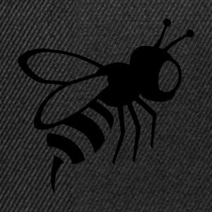 Black bee, wasp, insect Women's Tees (short sleeved) - Snapback Cap