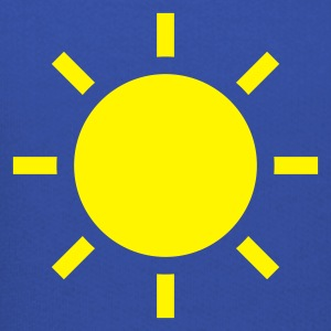 Royal blue weather symbol - sun T-Shirts - Kids' Premium Hoodie