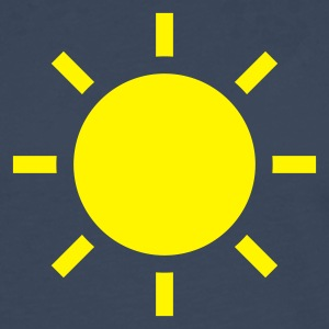 Royal blue weather symbol - sun T-Shirts - Men's Premium Longsleeve Shirt