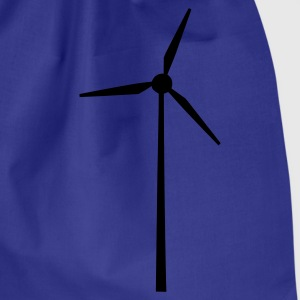 Sky Wind wheel for renewable energies T-Shirts - Drawstring Bag