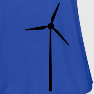 Sky Wind wheel for renewable energies T-Shirts - Women's Tank Top by Bella