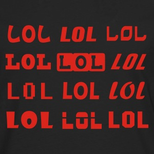 Black Lots of LOLz Women's Tees - Men's Premium Longsleeve Shirt