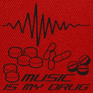 Rosa Music is my Drug T-shirts - Snapbackkeps