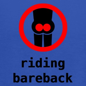 riding bareback hurts - Women's Tank Top by Bella