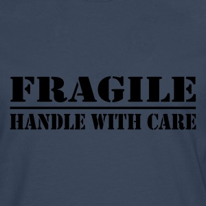 Fragile - handle with care - Men's Premium Longsleeve Shirt