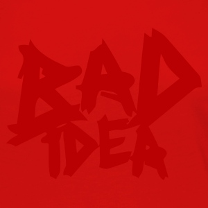 Burgundy red Bad Idea Men's Tees - Women's Premium Longsleeve Shirt
