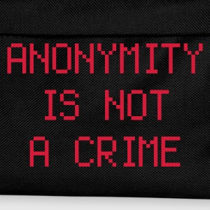 anonymity is not a crime - Kids' Backpack