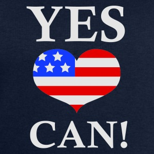 Marinblå Yes We Can - Barack Obama T-shirts - Sweatshirt herr från Stanley & Stella
