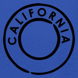 Kongeblå California - USA T-shirts - Dame tanktop fra Bella