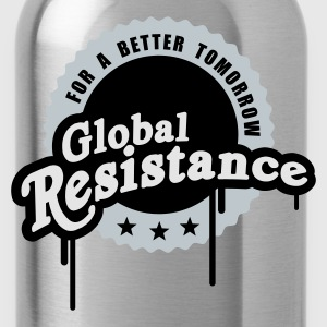 Global Resistance - Trinkflasche