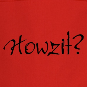 Yellow Howzit? Women's Tees - Cooking Apron