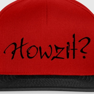 Yellow Howzit? Women's Tees - Snapback Cap