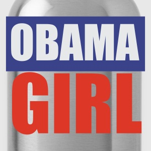 Rose clair Barack Obama Girl T-shirts - Gourde