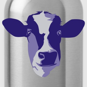 Drink More Milk Cow Print T Shirt - Water Bottle