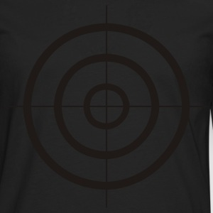 Bottlegreen target - weapon - gun Men's Tees - Men's Premium Longsleeve Shirt