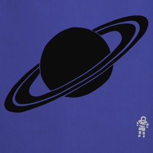 Turkis Saturn - Planet - Astronaut - Space T-shirts - Forklæde