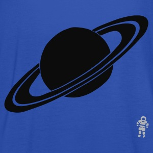 Turkis Saturn - Planet - Astronaut - Space T-shirts - Dame tanktop fra Bella