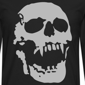 Vampire skull Tee shirts - T-shirt manches longues Premium Homme