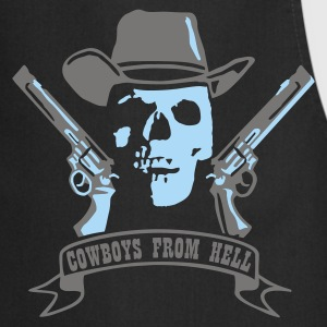 cowboys_from_hell Camisetas - Delantal de cocina