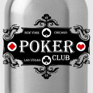 Cendre poker club T-shirts - Gourde