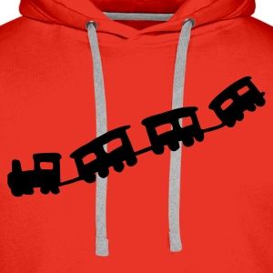 Red train Women's Tees - Men's Premium Hoodie
