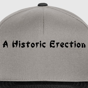 a historic erection (chinese style) - Gorra Snapback