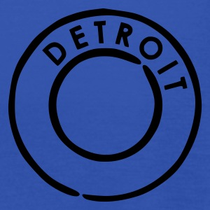 Royal blue Detroit Men's Tees - Women's Tank Top by Bella
