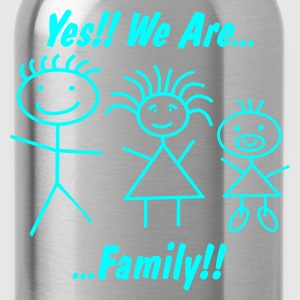 We are Family for Women - FREIE FARBWAHL - Trinkflasche