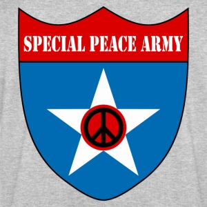 Cendre peace army T-shirts - Sweat-shirt Homme Stanley & Stella