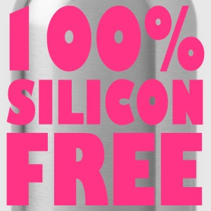 Pink 100% Silicon Free Women's Tees - Water Bottle