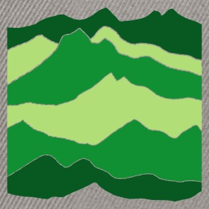 Verde erba mountains T-shirt - Snapback Cap